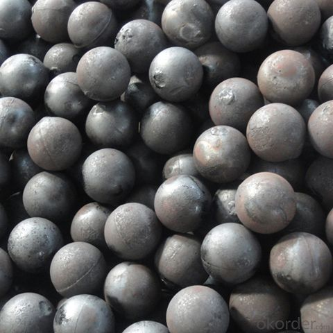 High Chrome Cast Iron Ball For Grinding Mill
