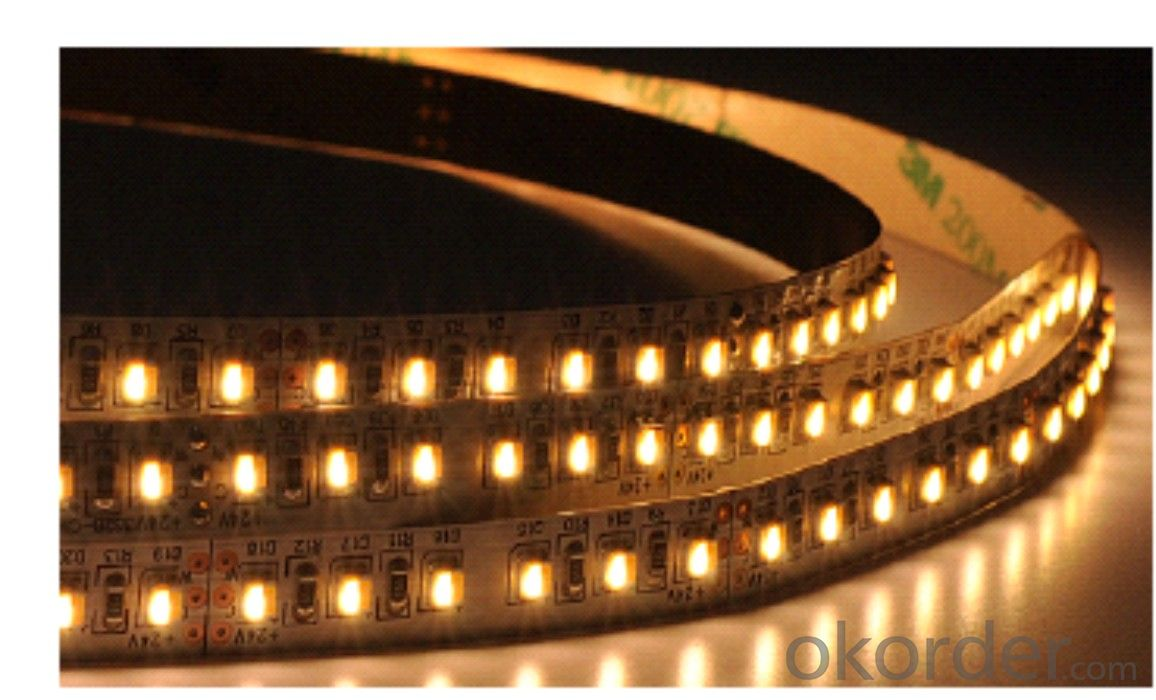 LED Strip Light DC 12V/24V,SMD 3528-60 LEDS PER METER  IP20 INDOOR