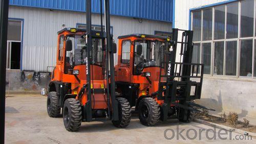 2.8T HM  Rough Terrain Forklift