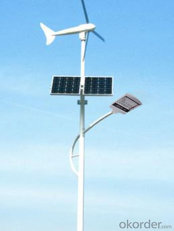 Wind-Solar Hybrid Street Lights  JMTF-002