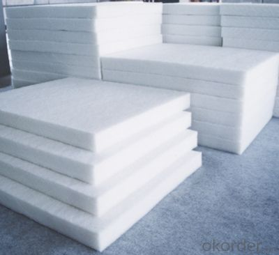 High temperature ceramic fiber refractory fabric for heat insulation