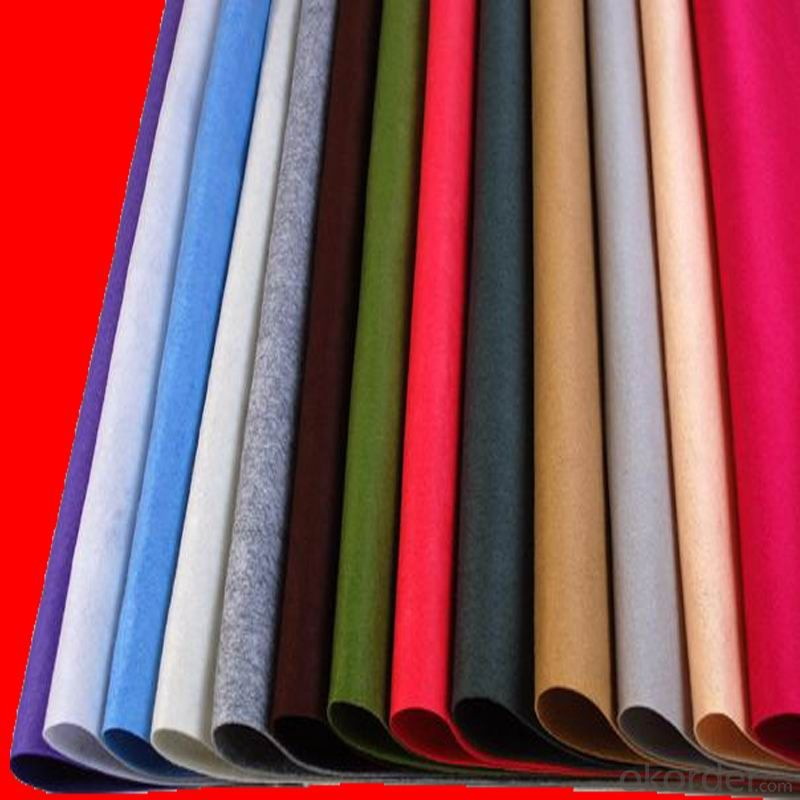 technical pressed wool felt for industry