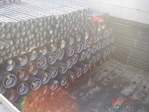 DUCTILE  IRON PIPES  AND PIPE FITTINGS K8CLASS DN100