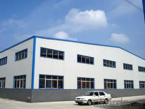 Steel Prefabricated WarehousePprice with Galvanized H Steel