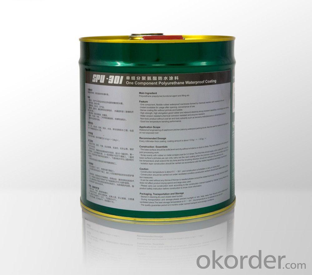 SPU301Single-Component Polyurethane Waterproofing Paint