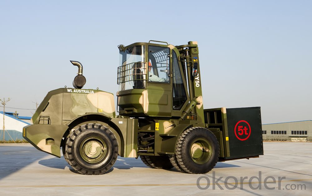 5.0T Rough Terrain Forklift