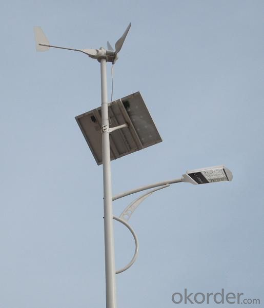 Wind-Solar Hybrid Street Lights JMTF-001