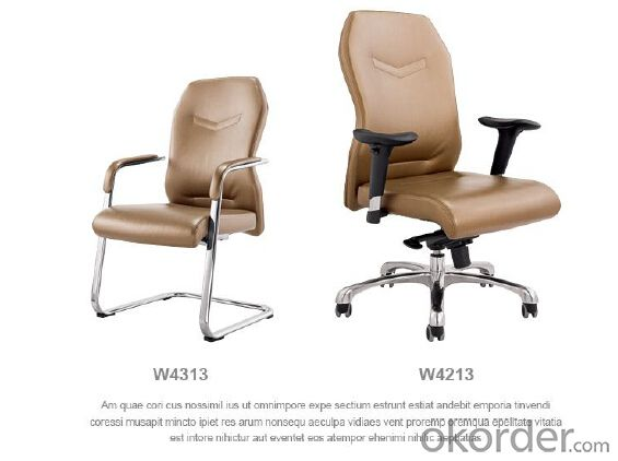 New Design Racing Office Chair Genuine Leather/Pu W4013