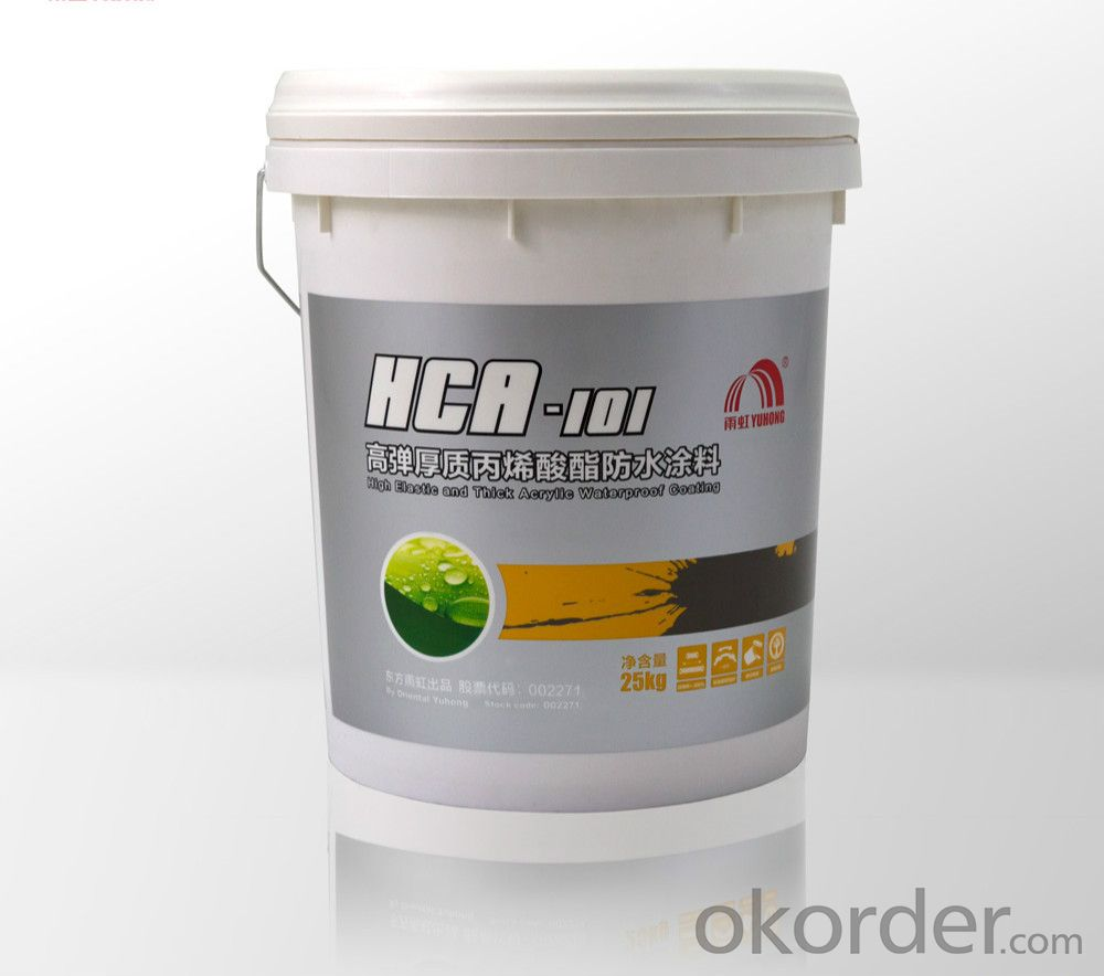 HCA-101 High Elastic Thick Acrylate Waterproofing Paint