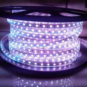 LED Strip Light DC 12V/24V,SMD 3528-60 LEDS PER METER  IP68 OUTDOOR PU GLUE PLUS TUBE