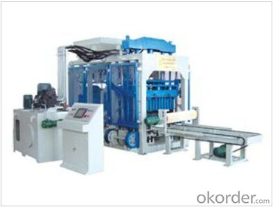 Automatic Block Machine QT 10-15,high efficiency