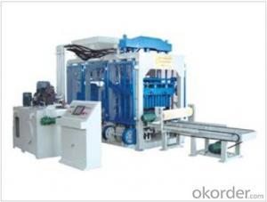 Automatic Block Machine QT 10-15,high efficiency