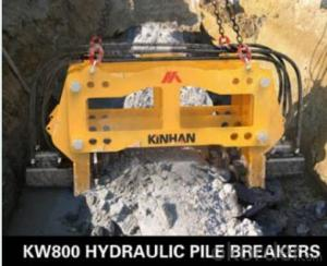 KW800 HYDRAULIC PILE BREAKER,GOOD QUALITY