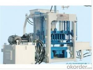 QT 3-15 Semi-Automatic Block Machine,perfect