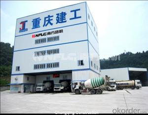 Completely Environment friendly concrete mixing plant