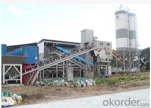 HLSS360 Hydropower dedicated concrete mixing plant