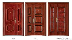 Standard Steel Security Doors for Buildings