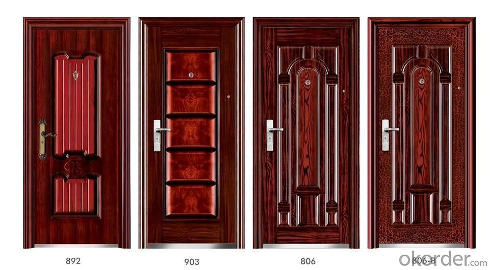 Steel Security Doors for Buildings from China