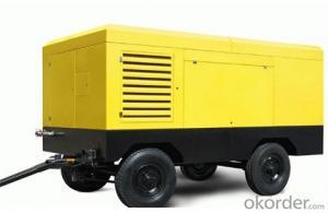 Zhongmei brand Screw Air Compressor mobile type