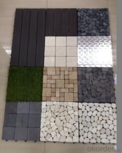 Wood Plastic Composite Tiles for each connection