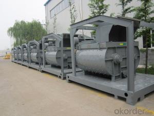 Twin-shaft Mixer Concret mixing plant machine