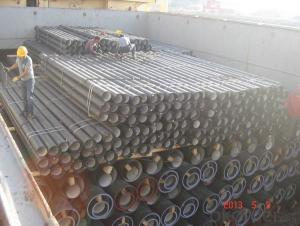 ductile iron pipeDN450 K8 SOCKET SPIGOT PIPE