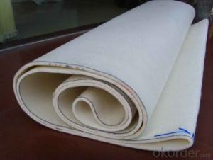 Pressed Colored or white 1mm-50mm industrial wool felt