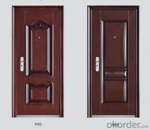 Standard Steel Security Doors with Various of Designs