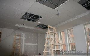 gypsum board(plaster board,drywall board,ceiling board,pvc laminated gypsum ceiling tile )