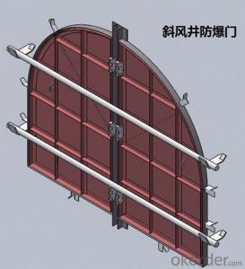 Zhongmei brand Inclined Shaft Explosion Door
