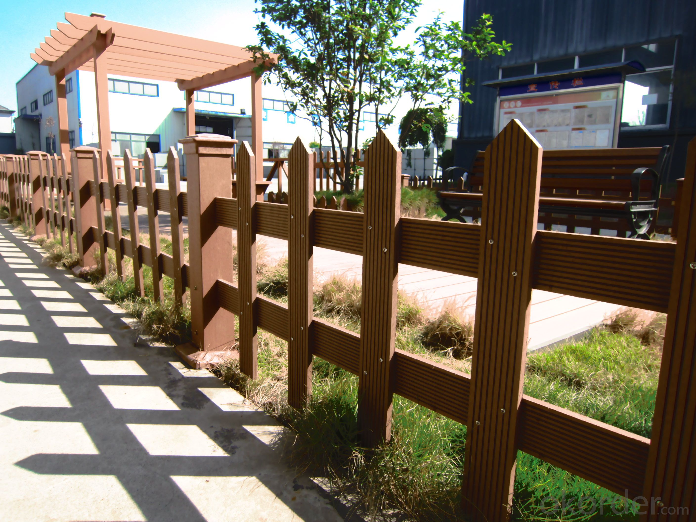 Wood Plastic Composite Railing for project