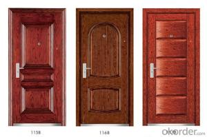 Steel Wooden Armored Doors with High Quality