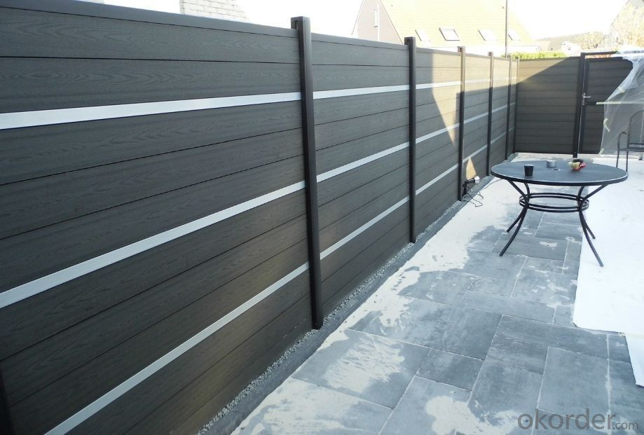 DIY Wood Plastic Composite Fence for better installation