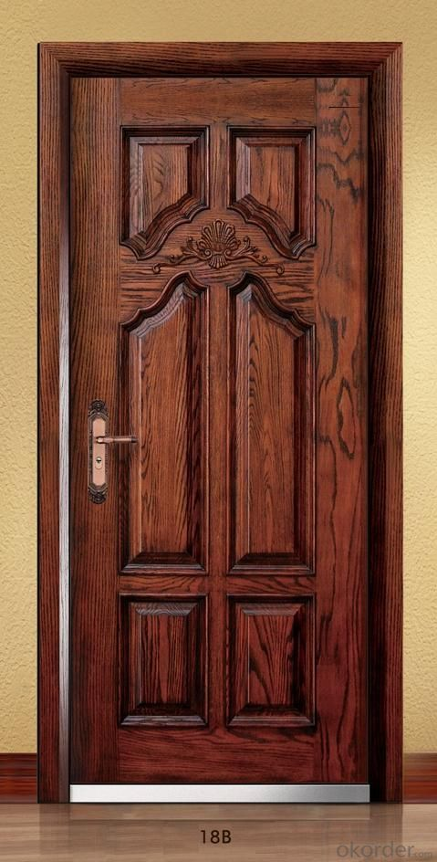 Standard Steel Wooden Armored Doors with Good Quality