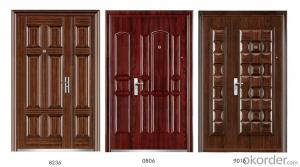Standard Steel Security Doors with Different Designs