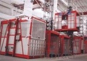0-46m/min SC120G building elevator