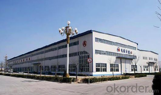 Steel Structure Sandwich Panel Workshop Warehouse Crane