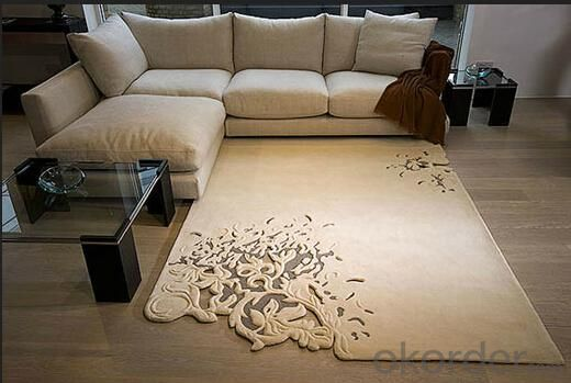 Floor Carpets, Customized Requirements are Accepted, Available in Various Colors