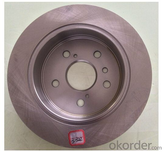 Disc Brake Auto Brake Disc, Disc Brake Rotor China Supplier