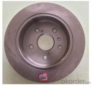 Disc Brake Auto Brake Disc, Disc Brake Rotor China Supplier