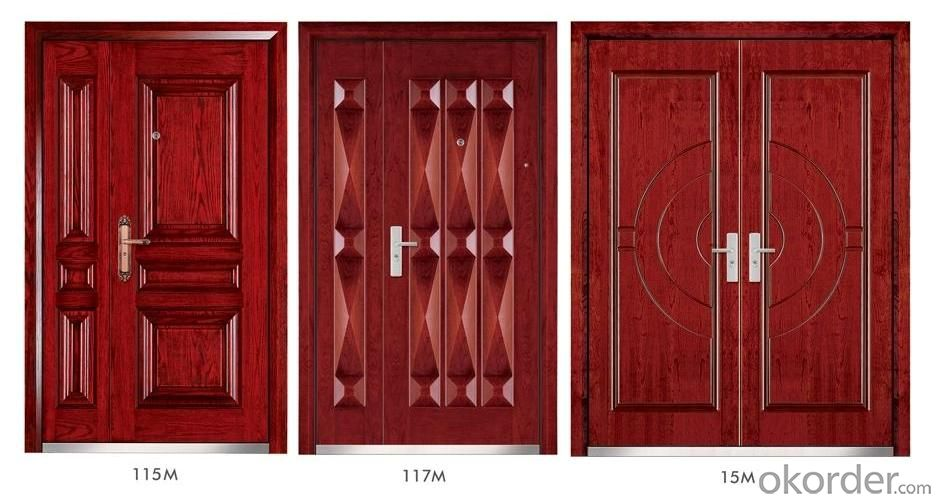 Steel Wooden Armored Doors with Good Prices