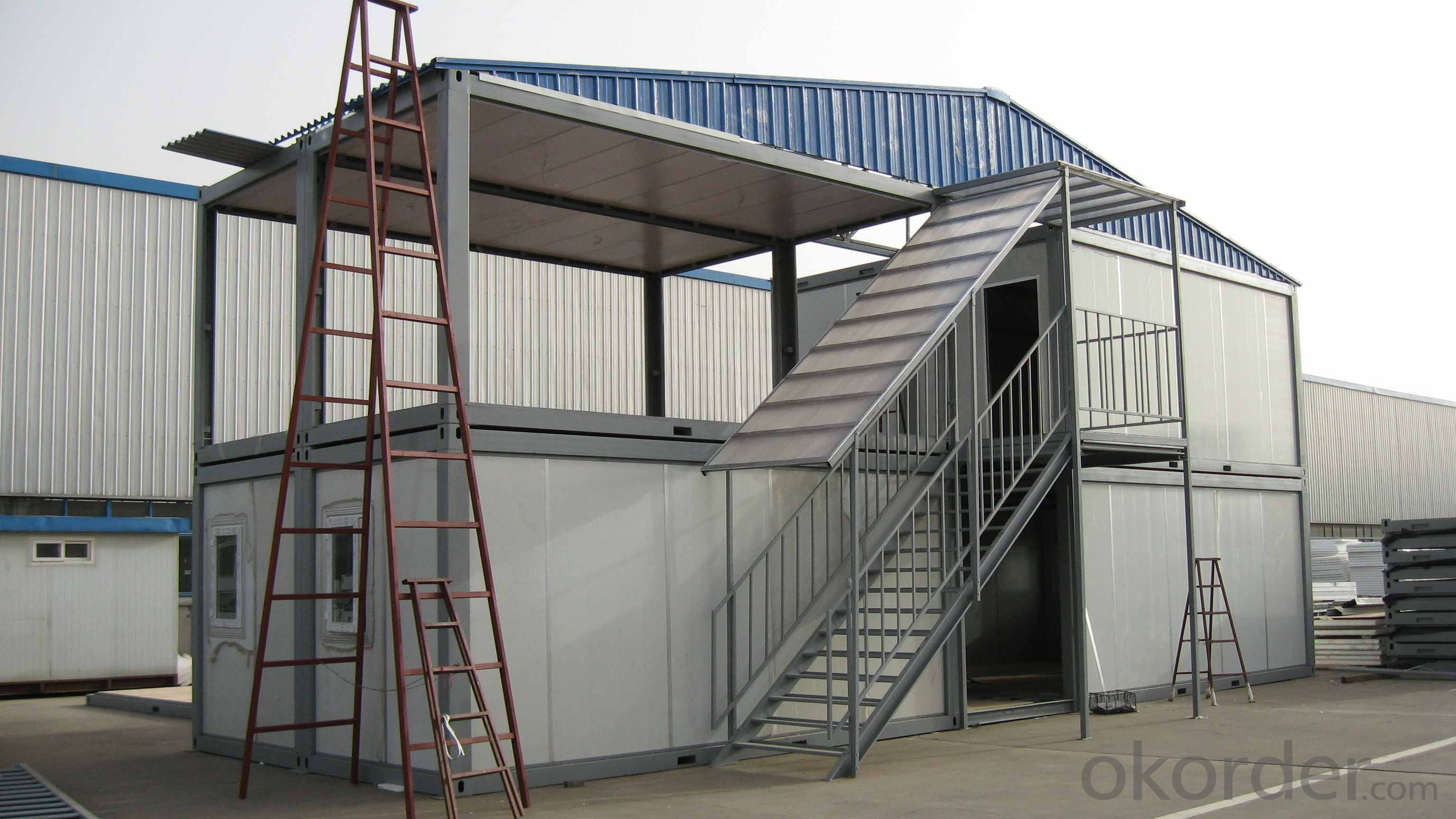 Container House Sandwich Panel Steel Structure Two Floor