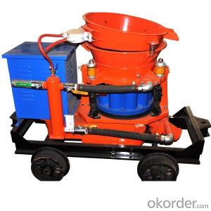 Zhongmei brand 3D Wall Mortar Spraying Machine