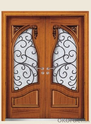 Steel Wooden Armored Doors with Competitive Prices