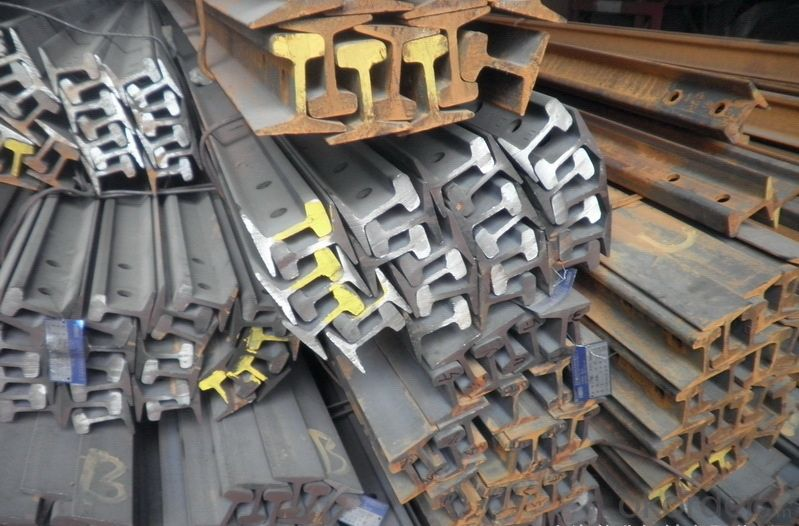 Zhongmei brand Standard heavy railway steel rail