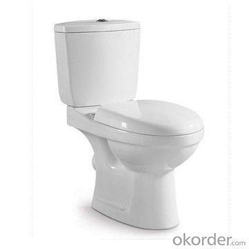Ceramic S-trap bathroom two-piece toilets