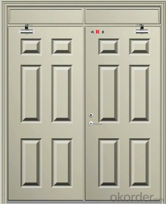 industrial Fire security door made in china