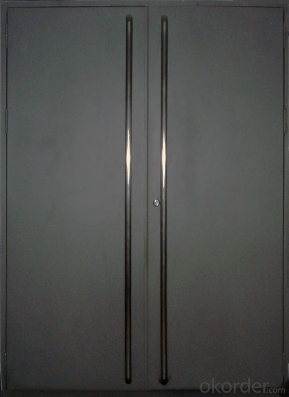 Industrial fire rated sectional overhead doors