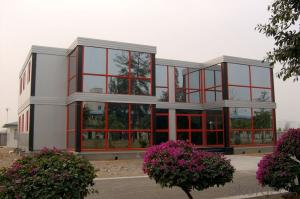 China made prefabricated container office building
