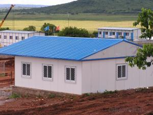 Prefabricated House Sandwich Panel Steel Structure Labor Camp